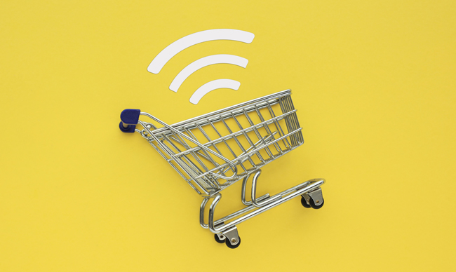 Shopping Cart with WiFi