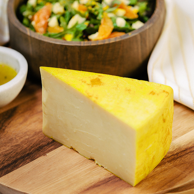 Ginger and Turmeric Promontory Cheese