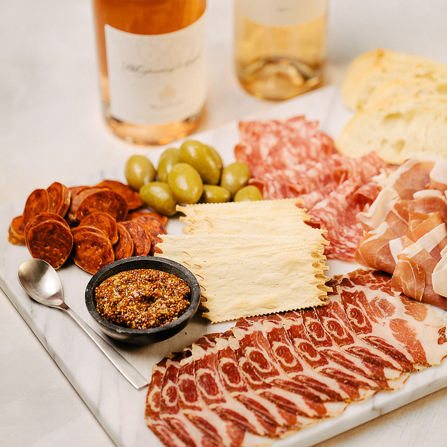 Rose Wine and Charcuterie Pairing