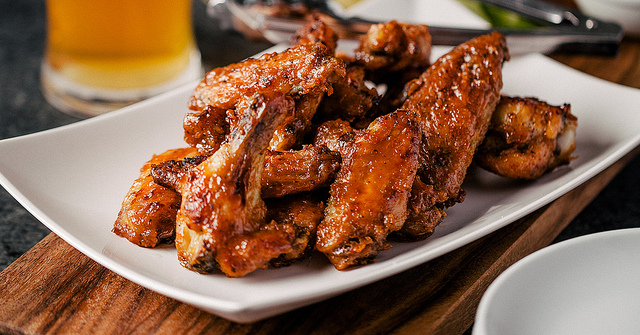 PB and J Chicken Wings