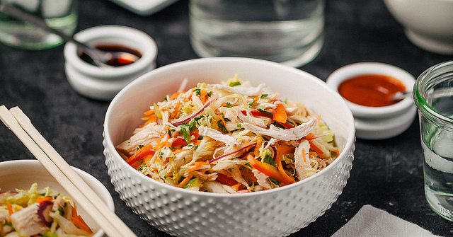 Thai-Style Slaw and Chicken