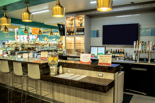 Gelson's Rancho Mirage wine bar