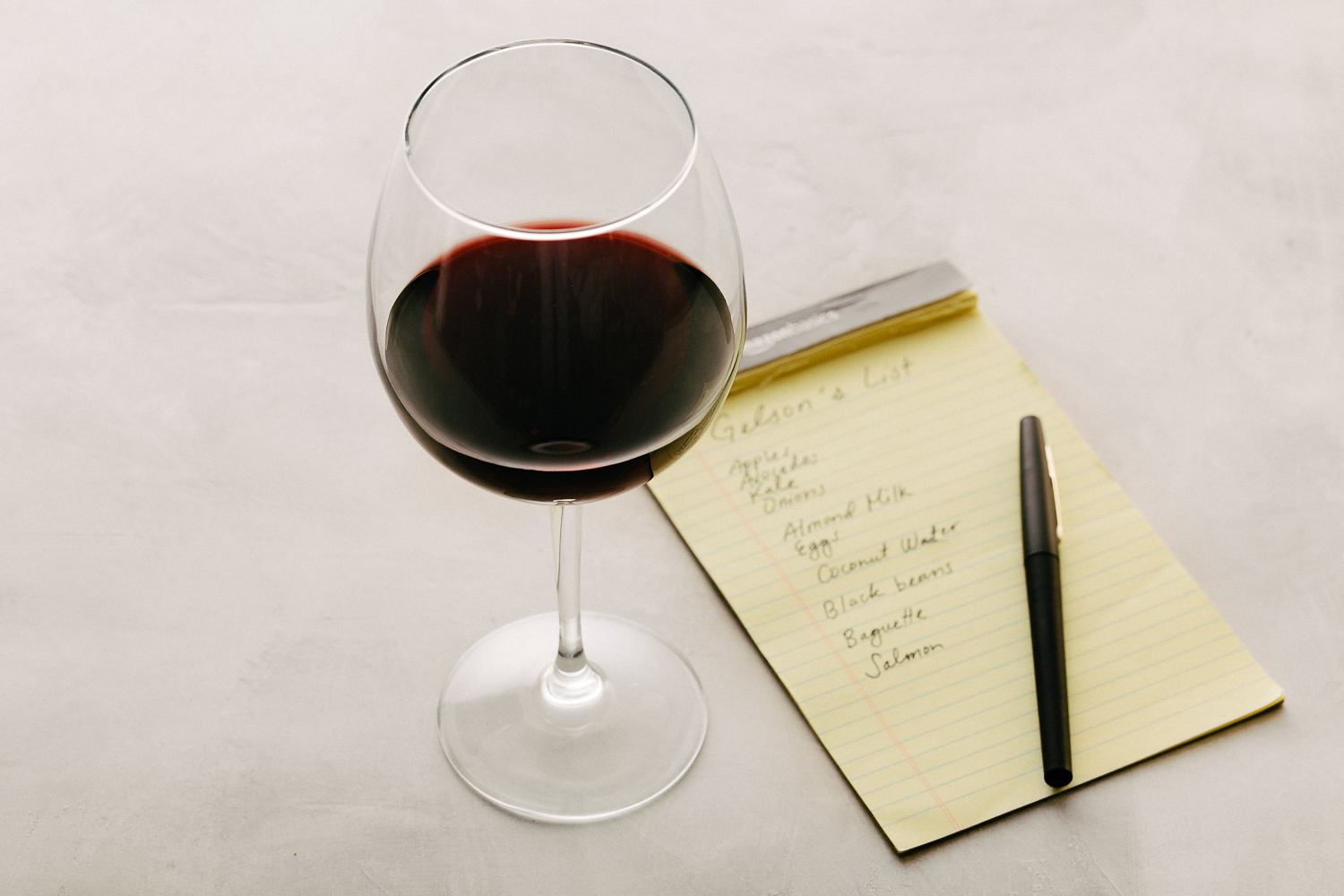 Wine ans Shopping List