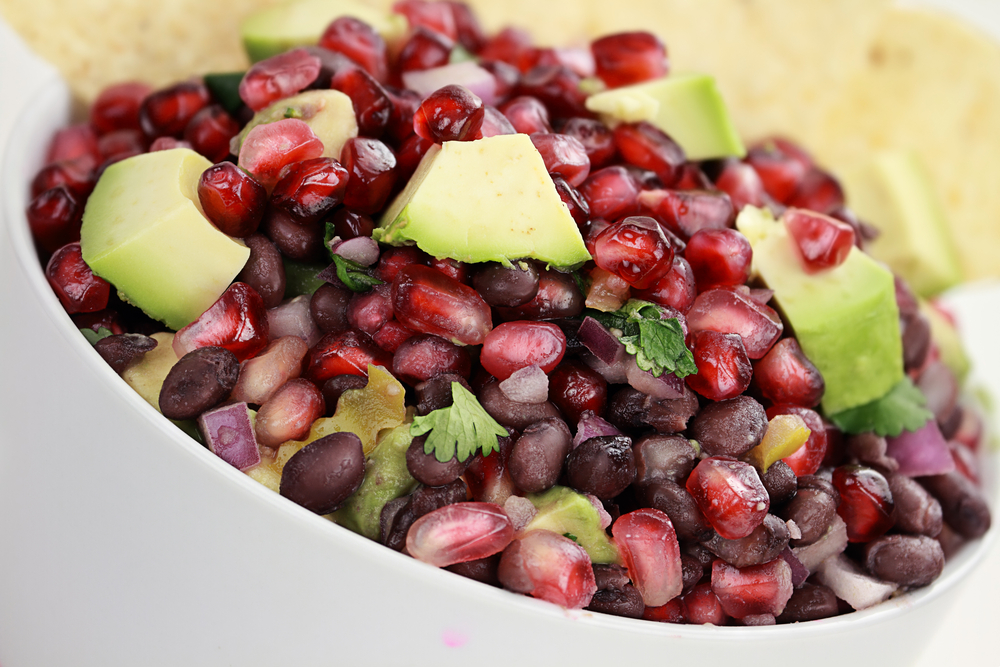Pomegranate Avocado Salad